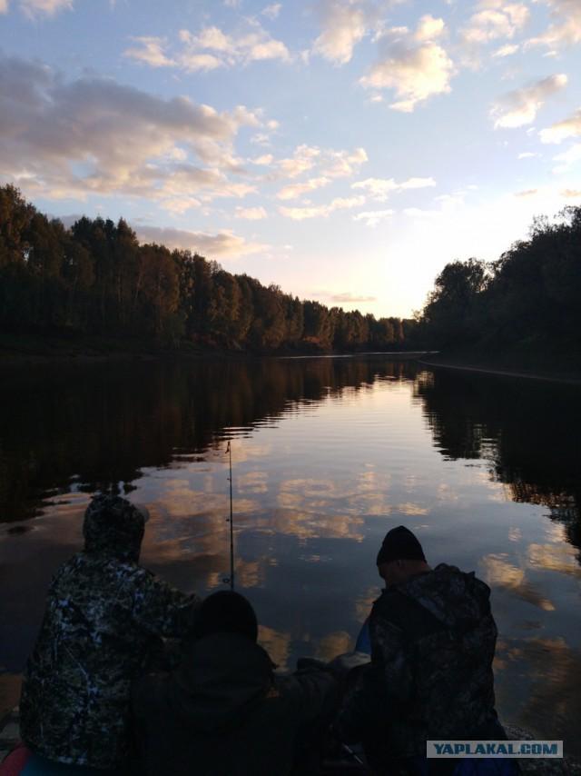 Осенний сплав по Лозьве 2018