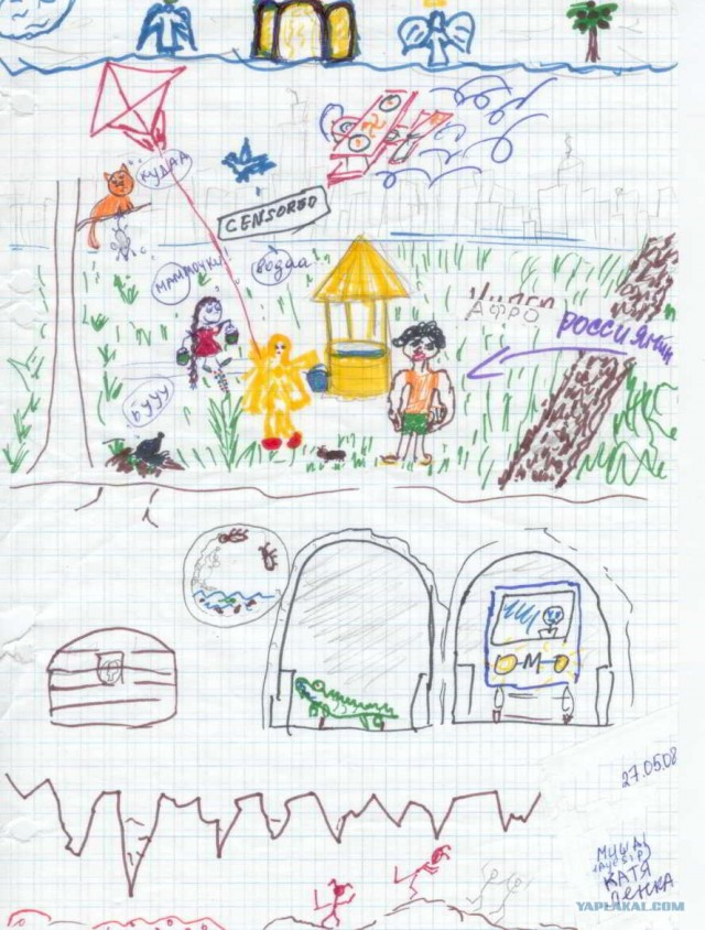 Рисунки детские на разные темы