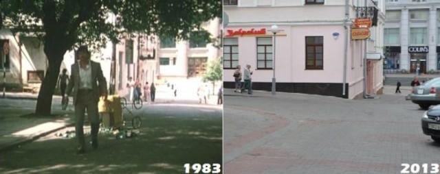 """Места съемок фильма """"Белые росы"""" 30 лет спустя"""