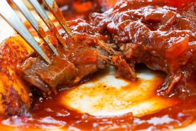 Говядина в соусе барбекю