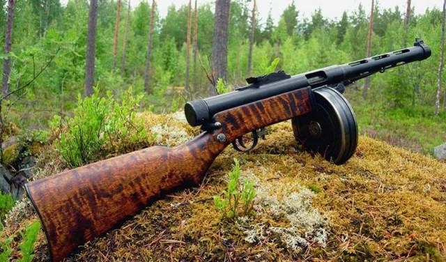 Пистолеты-пулеметы Второй мировой войны