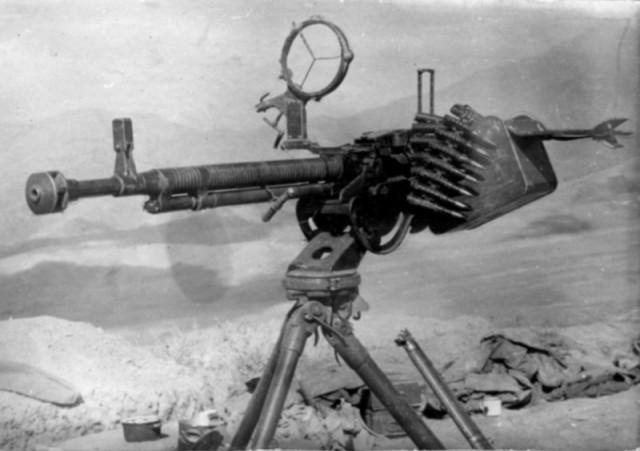 Крупнокалиберный пулемет Дегтярёва-Шпагина ДШК