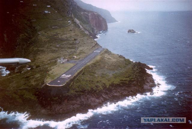 Аэропорт на острове Саба