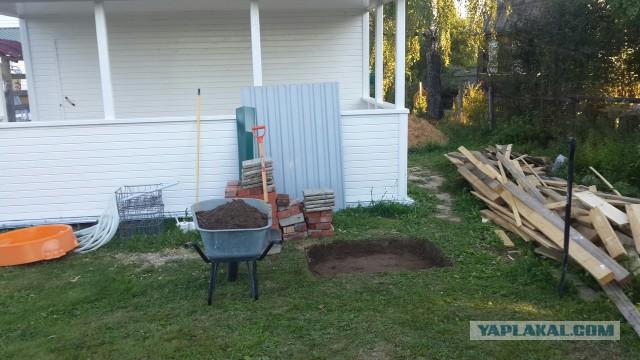 Строительство мангала на даче или куда девать