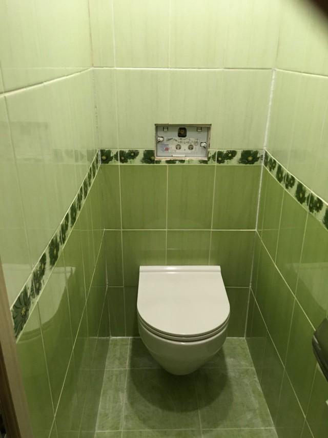 Как безработный отманивал ум от безвременной скуки. Легкий ремонт туалета
