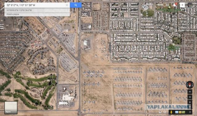 Интересные точки в Google Maps