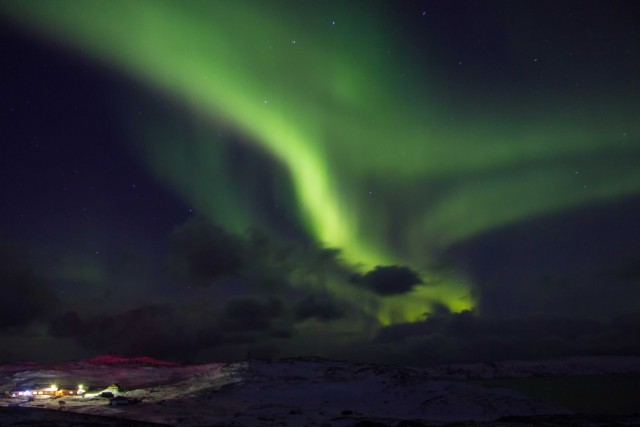 Приключения московской блондинки за полярным кругом