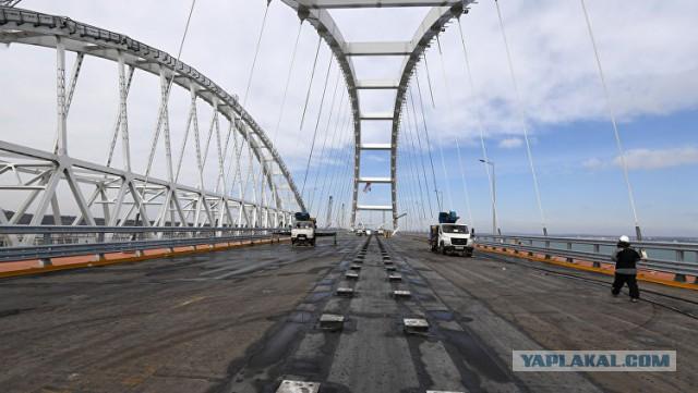 Автодорога Крымского моста заасфальтирована на 70% — заказчик