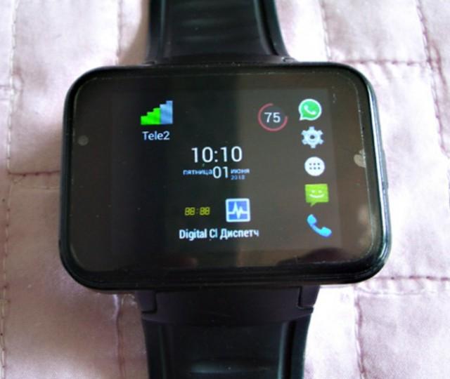 Часы-телефон на Андроиде надо кому?
