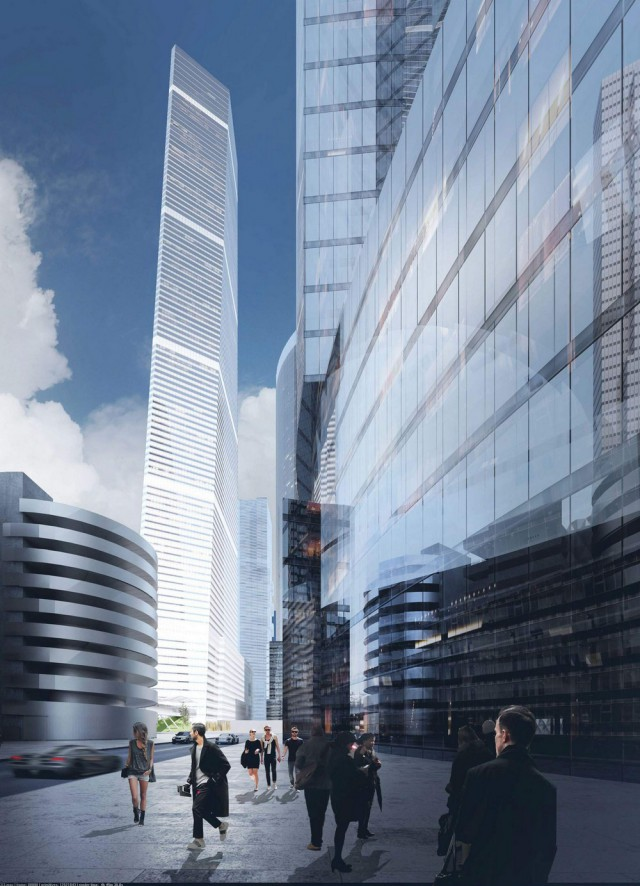 Новый небоскреб в ММДЦ «Москва - Сити»
