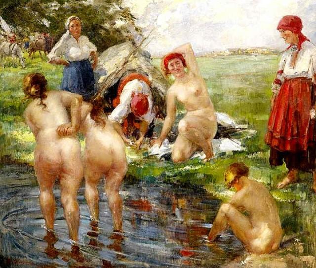 эротика на картинах художников