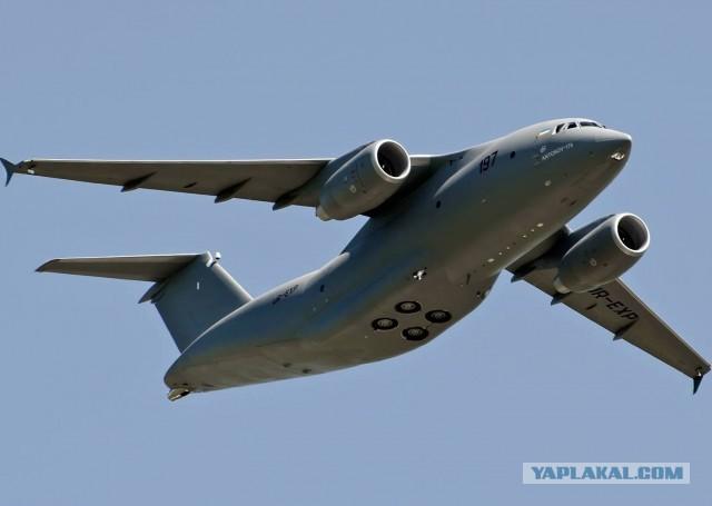 ГП «Антонов» собрал первый серийный самолет Ан-178 без российских комплектующих