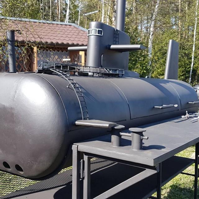 Как должен выглядеть мангал подводника