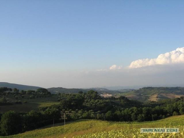Италия - поездка на автомобиле туда и обратно