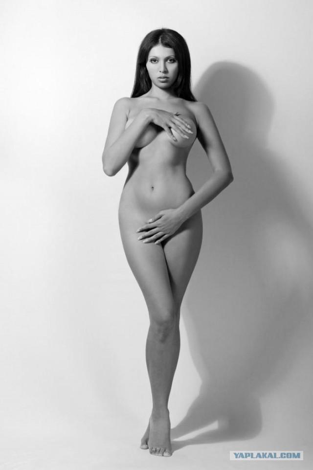Известная азербайджанская модель Нурида Алиева