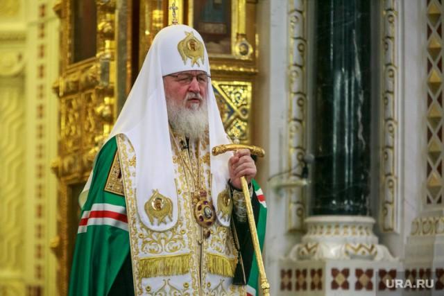 Патриарх Кирилл: каждый год уРПЦ появляется по1300 новых храмов