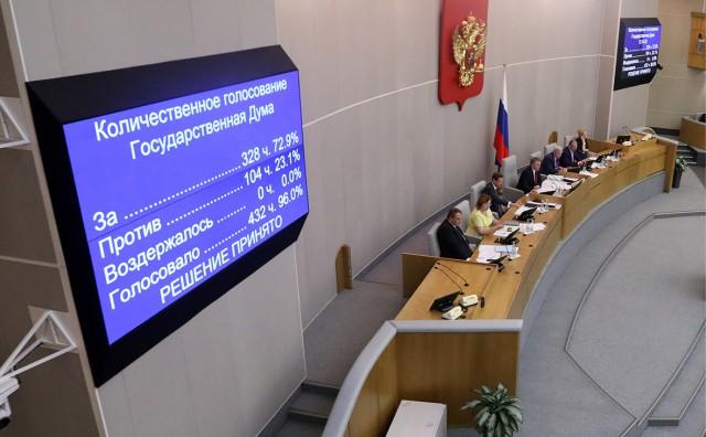 Госдума в третьем чтении приняла закон о повышении НДС до 20%
