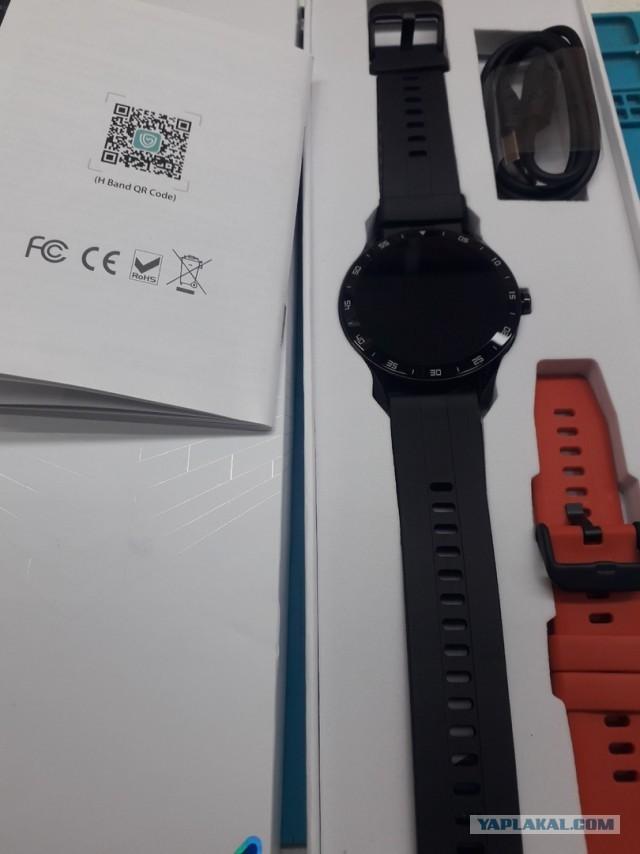 Умные часы с мониторингом сна, пульса Blackview X1