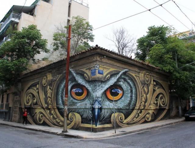 17 фотографий о том, что уличные художники видят наши города вообще не так, как мы