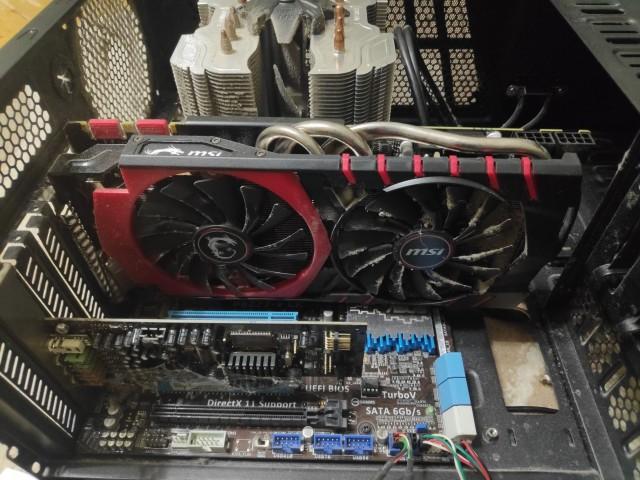 Продам остатки компьютера после апгрейда:  i5 3570к, gtx980 msi g4g, 2х4 ddr3, башня zalman, мать asus p8z77-V LK