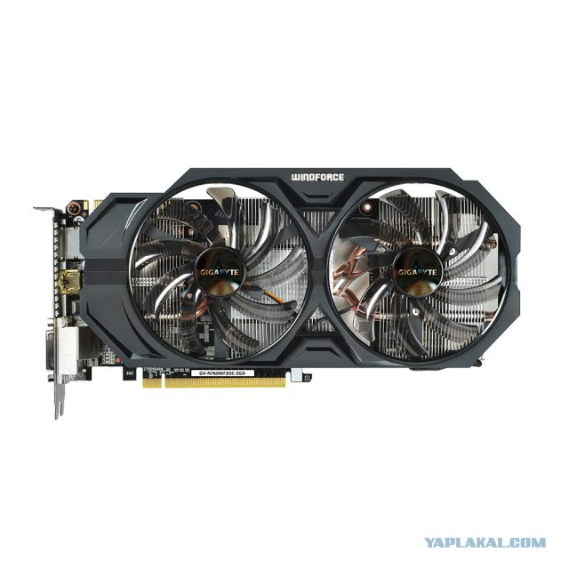 продам Видеокарта GIGABYTE GeForce GTX760 WF2 / 2GB GDDR5 256BIT / GV-N760WF2OC-2GD /
