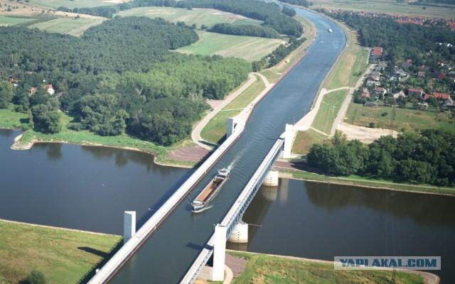 Загадочка про водный мост