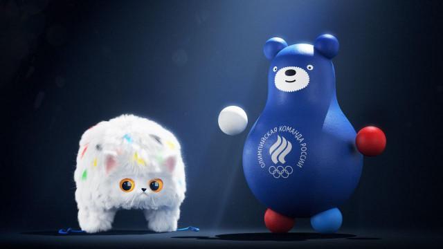 Студия Лебедева показала талисманы Олимпийской команды России