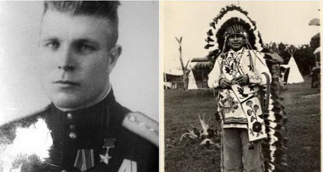 Иван Даценко - советский летчик, который стал вождем индейского племени