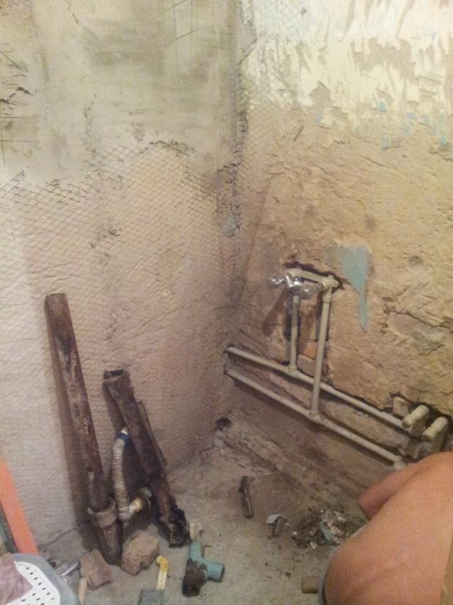 Ремонт ванно-туалетной комнаты!