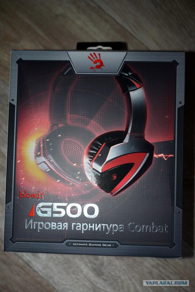 Игровая гарнитура A4 TECH BLOODY G500