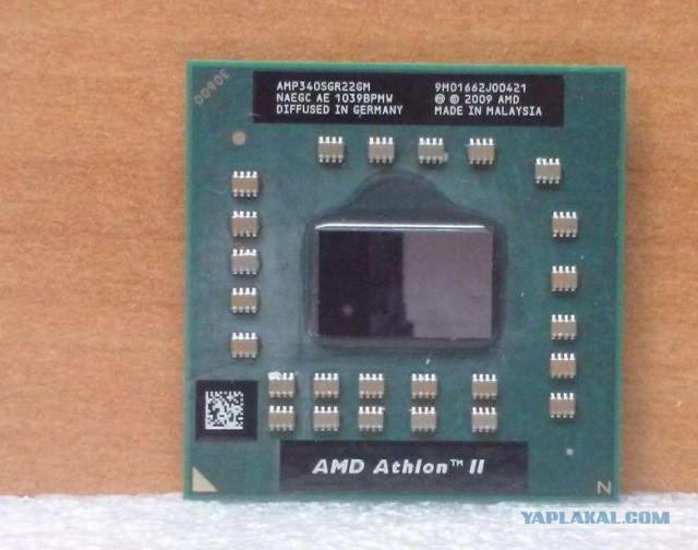 Проц для ноута AMD Athlon II P340 Dual Core Mobile Processor