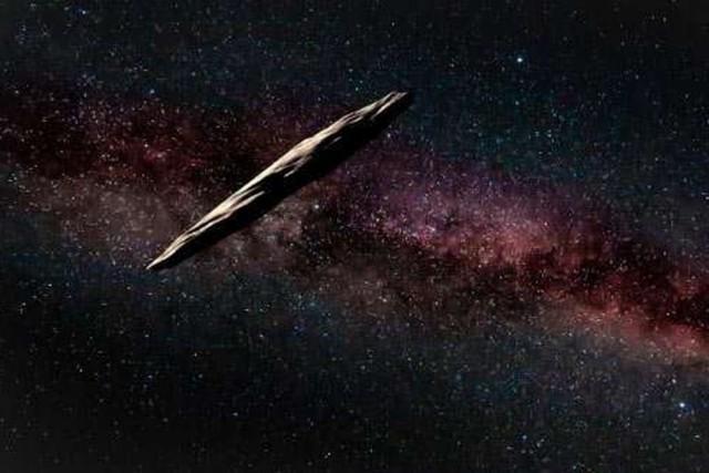 Сигарообразный астероид Оумуамуа внезапно исчез