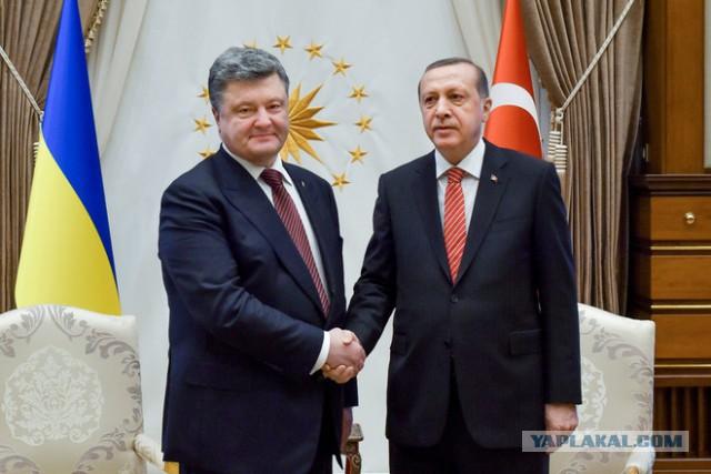 Порошенко заявил, что Турция поможет Украине вернуть Крым