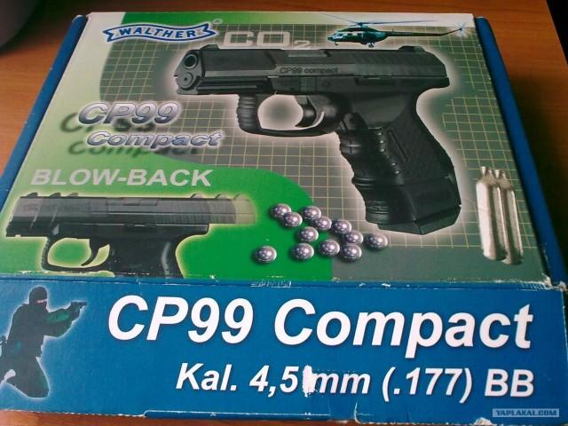 Пневматический пистолет Walther CP99 Compact Вальт