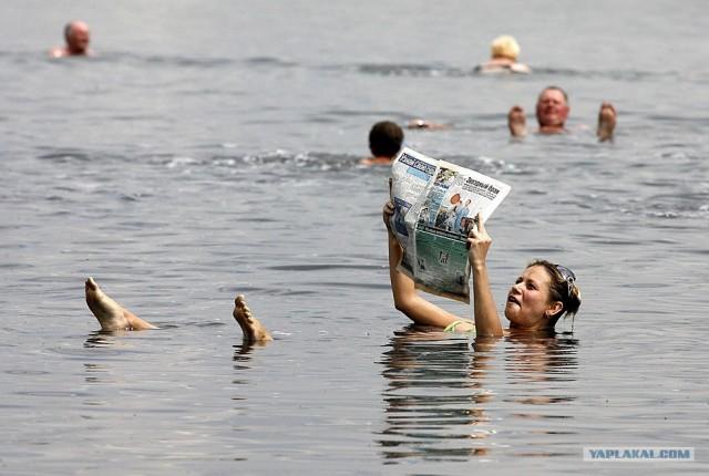 Плавайте сидя