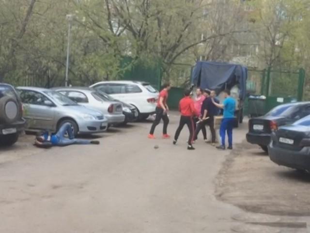Массовая драка в Москве на основе этнической неприязни
