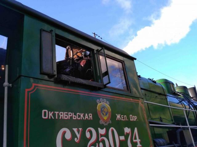 Первый в России регулярный паровозный маршрут