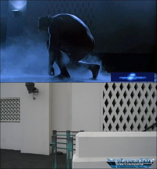 Места со съёмок фильма «Терминатор». Тогда и сейчас, разница в 32 года