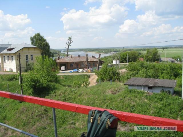 Сплав на байдарке по реке Ока.