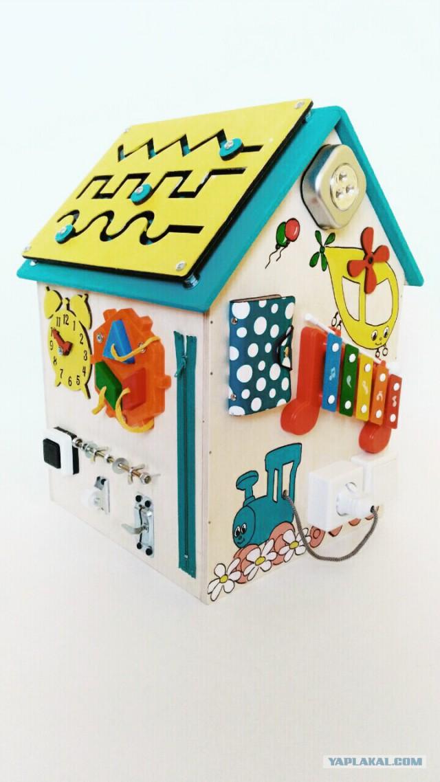 Продам бизиборд-домик
