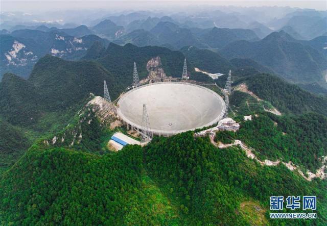 Китай введёт в эксплуатацию радиотелескоп площадью в 30 футбольных полей