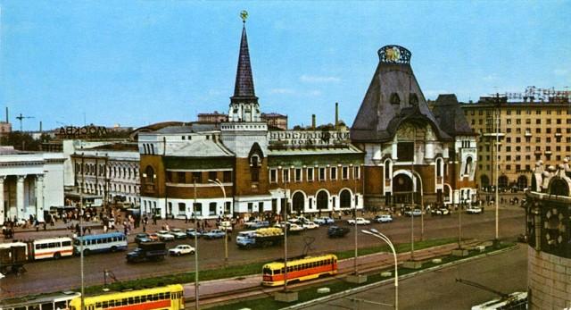 Московские вокзалы 70 х