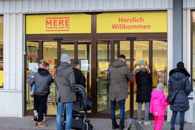 Красноярский дискаунтер в Лейпциге закрыли после драки немцев за продукты