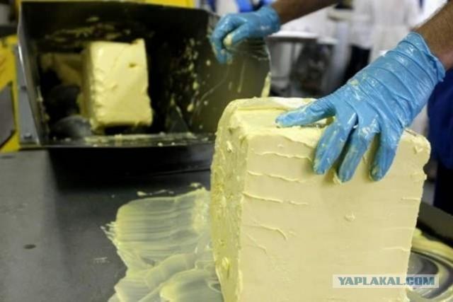 В Самаре предприниматель изготовил из 5 тонн сырья 30 тонн сливочного масла