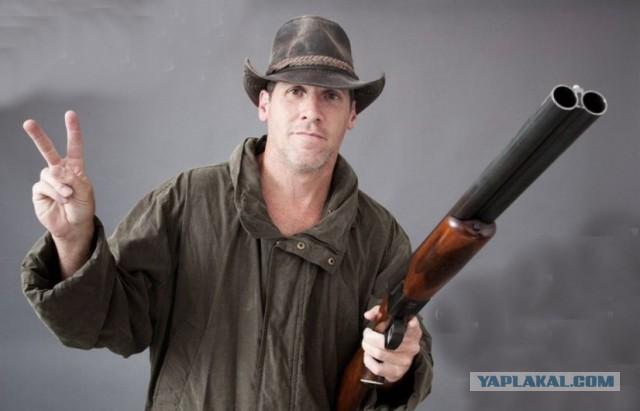 Владельцев оружия могут обязать носить опознавательные знаки