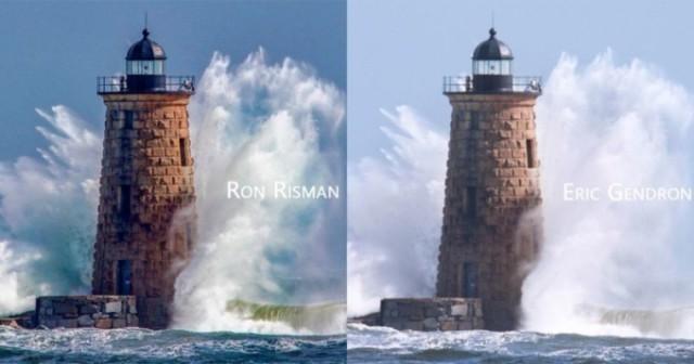 Фотографа заподозрили в краже, но два человека просто сняли маяк в одну миллисекунду