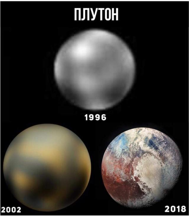 С Плутоном что то происходит