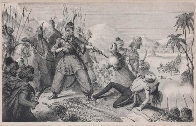 Истребление англичан. 1842 год