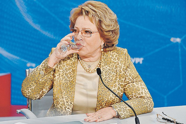 Имя Валентины Матвиенко появилось в материалах «кокаинового дела»