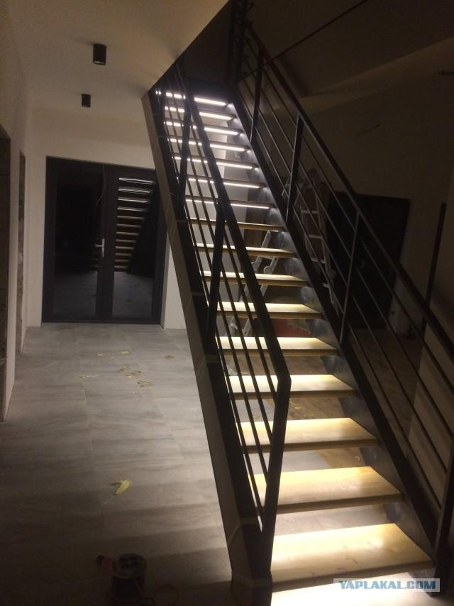 Как я лестницу смастерил